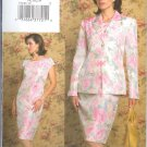 V7849 Vogue Pattern THE VOGUE WOMAN Jacket, Dress Misses/Miss Petite Size 8, 10, 12
