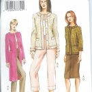 V7860 Vogue Pattern Jacket, Skirt, Pants Misses/Miss Petite Size 18, 20, 22