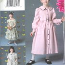 V7926 Vogue Pattern VOGUE FOR ME Dress Child Size 2, 3, 4