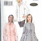 V7936 Vogue Pattern Shirts Misses Size 6, 8, 10