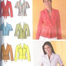 S4231 Simplicity Jacket w/ Length, Collar Variations and Tie Belt Misses/Miss Petite Size K5 8-16