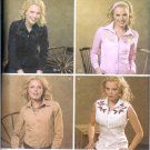 S4199 Simplicity Pattern Shirts Misses Size RR 14,16,18,20