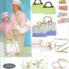 S4490 Simplicity Pattern Bags, Hats in 3 Sizes and Accessories MISSES / CHILD