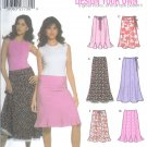 S5065 Simplicity DESIGN YOUR OWN 8 LOOKS Skirt Misses/Miss Petite Size HH 6,8,10,12