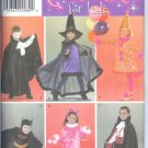 S3995 Simplicity Pattern Costumes for Kids Size A 3,4,5,6,7,8