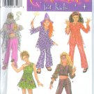 S4466 Simplicity Pattern Costumes for Kids Girls Size A 7,8,10,12,14