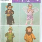 S4468 Simplicity Pattern Costumes for Kids Toddlers Size A 1/2,1,2,3,4
