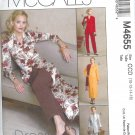 M4655 McCalls DRESS ALTERNATIVES  Jackets,Dress,Duster,Pants Misses/Miss Petite Size 16,18,20,22