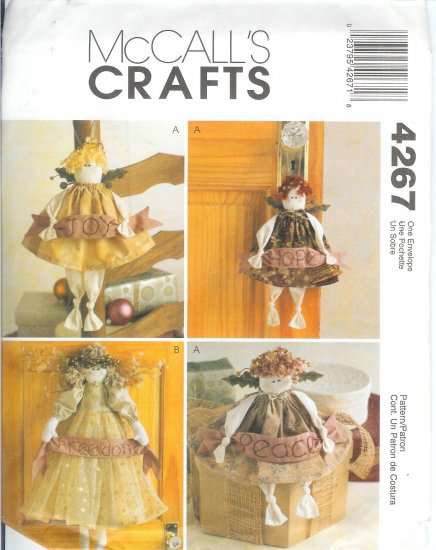 M4267 McCall Pattern CRAFTS Peaceful Angels