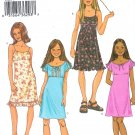 B3794 Butterick Pattern FAST EASY Dress Girl Size 12, 14, 16