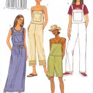 B3853 Butterick Pattern EASY Jumper, Overalls Misses/Miss Petite Size XS, S, M