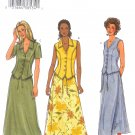 B3870 Butterick Pattern FAST & EASY Top, Skirt Misses/Miss Petite Size 14, 16, 18