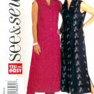 B3883 Butterick Pattern EASY SEE & SEW Dress, Pants Misses/Miss Petite Size 8, 10, 12