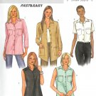 B3926 Butterick Pattern FAST & EASY Top Misses/Miss Petite Size 12, 14, 16
