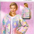 BP176 Butterick Pattern  Quilted Jacket Size Misses Z   L-XL
