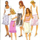 BP404 Butterick Pattern EASY Skirt Misses Size 12, 14,16