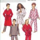 BP437 Butterick FAST&EASY Robe, Belt, Top, Pants Boy/Girl Size CH 7-10