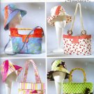 BP438 Butterick Pattern Handbags, Totes & Matching Hats   OSZ