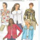 B4741 Butterick Pattern CLASSICS EASY Jacket Misses/Miss Petite Size BB 8-10-12-14