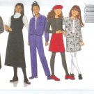 B6286 Butterick Pattern CLASSICS FAST&EASY Jacket, Jumper, Skirt, Pants Girls Size 7,8,10