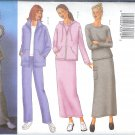 B6709 Butterick Pattern FAST & EASY Jacket, Top, Skirt, Pants Misses/Miss Petite Size 6, 8, 10