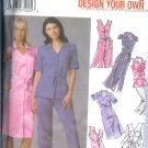 S5191 Simplicity Pattern DESIGN YOUR OWN Shirt dress or Tunic & Pants Misses/Womens BB 18W - 26W