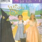 S7801 Simplicity Pattern WIZARD of OZ Costumes for Kids Child Size A 3,4,5,6,7,8