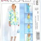 MP352 McCalls EASY Shirt-Jacket,Top, Skirt, & Pants Misses/Miss Petite Size 16 - 18 - 20 - 22