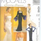 M4248 McCalls Pattern EVENING ELEGANCE Lined Tops,Skirt Misses/Miss Petite Size AA 6-8-10-12