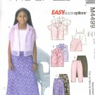 M4499 McCalls EASY ENDLESS OPTIONS Shirt, Camisole, Skirt, Pants Girls Size CH 7-8-10