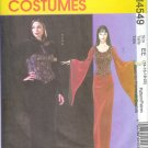 M4549 McCalls Pattern GOTH Costume Adult Size EE 14-16-18-20