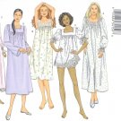 B3313 Butterick Pattern Nightgown Shorts Misses Size XS, S, M