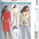 M4842 McCalls Pattern PALMER PLETSCH Jacket,Top,Dress,Pants Misses Size GG 18-20-22-24