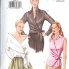 V7340 Vogue Pattern Blouse Misses Size 8,10,12