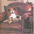 V7441 Vogue Pattern CRAFT Plush Dog Pillows