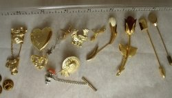 Stick Pins and Pins Lot - AVON and others