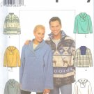 S4829 Simplicity Pattern Knit Top Misses/Mens/Teens Size BB L, XL