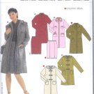 Burda 8160 Pattern Coat and Skirt Size 10 -24