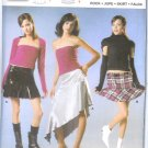 Burda 8250 Pattern YOUNG FASHION Skirt Size 8, 10, 12, 14, 16, 18, 20