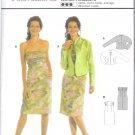 Burda 8188 Pattern International Dress and Jacket Size 8, 10, 12,1 4,16, 18, 20