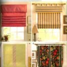 "B4311 Butterick Pattern Window Shades 36"", 42"" , 48"" by 60"" long"