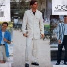 V2103 Vogue Pattern *Mens* Jacket, Shorts, Pants Mens Size 32, 34, 36