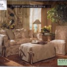 V1904 Vogue Pattern WAVERLY DESIGNER COLLECTION Slipcovers