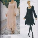 V1737 Vogue Pattern  TOM and LINDA PLATT  Fitted A-Line Dress Miss Size 6, 8, 10