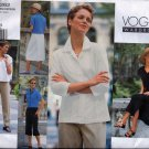V2262 Vogue WARDROBE Pattern Jacket, Dress, Top, Skirt, Pants Miss Petite 6,8,10