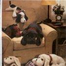 V7677 Vogue Pattern Craft Plush Dogs
