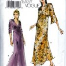 V7793 Vogue Pattern VERY EASY Dress Misses Size 6, 8, 10