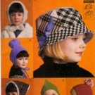 V7811 Vogue Pattern Children Hats Designed by LOLA