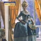 B4485 Butterick Pattern MAKING HISTORY 18th Century Court Dress Size 6-12