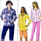 B4555 Butterick Pattern Top, Shorts, Pants Miss Petite Size 8-10-12-14